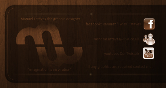 My Business Card by MEGraphix