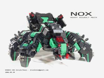 NOX - Heavy Assault Mech by krushnine