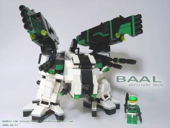 BAAL - Artillery Mech by krushnine