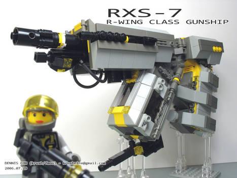 RXS-7 - R-Wing Class Gunship