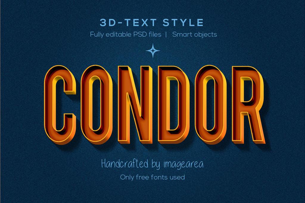 Ten 3D-Text Styles by imagearea