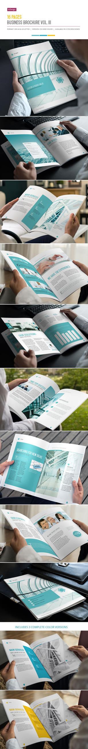 16 Pages Business Brochure Vol. III by imagearea