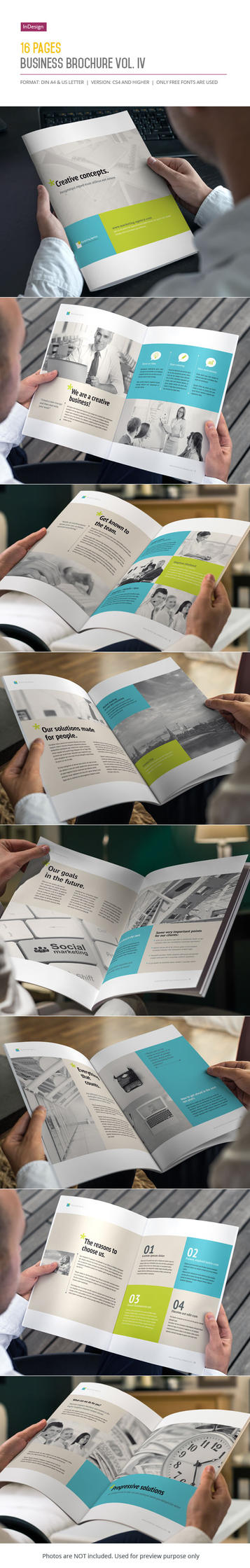 16 Pages Business Brochure Vol. IV by imagearea