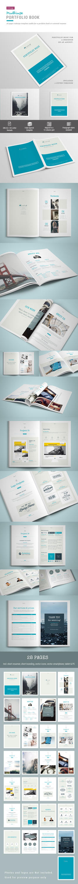 Portfolio Book - 28 Pages by imagearea