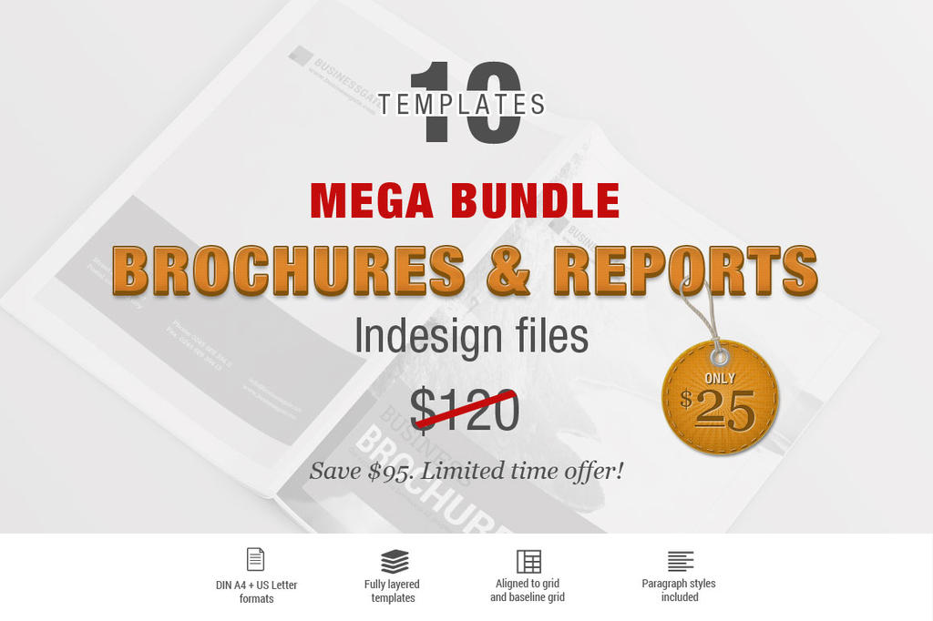 MEGA BROCHURE BUNDLE by imagearea