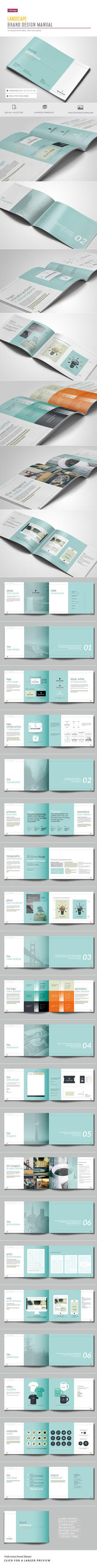 Brand Guidelines - 44 pages by imagearea