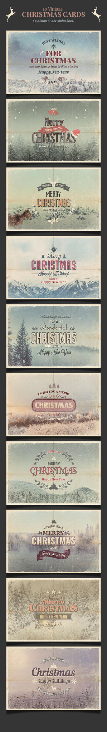 Preview-christmas-card10 Vintage Christmas Cards by imagearea