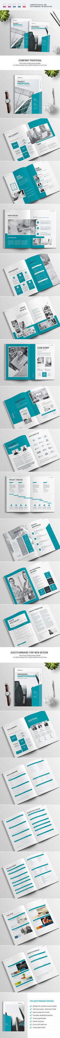 Proposal and Questionnaire - 2 Brochures - 1 Price by imagearea