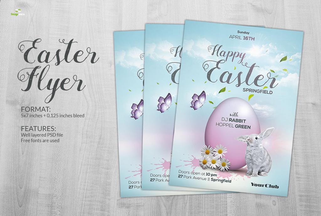 Easter Flyer by imagearea