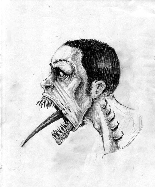 ghoul sketch by furk