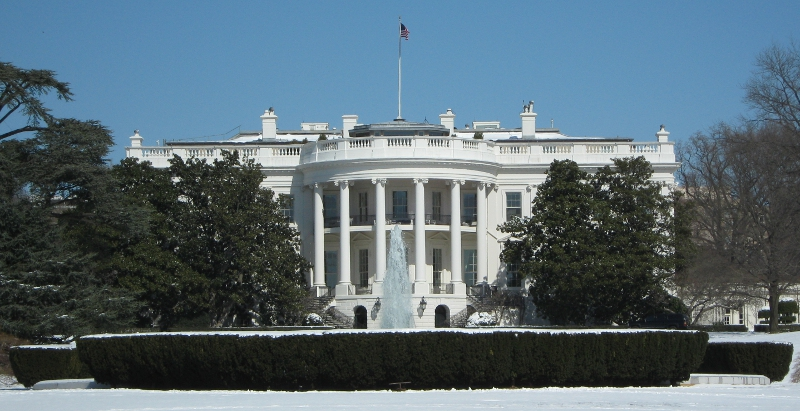 White House Winter by astronelson