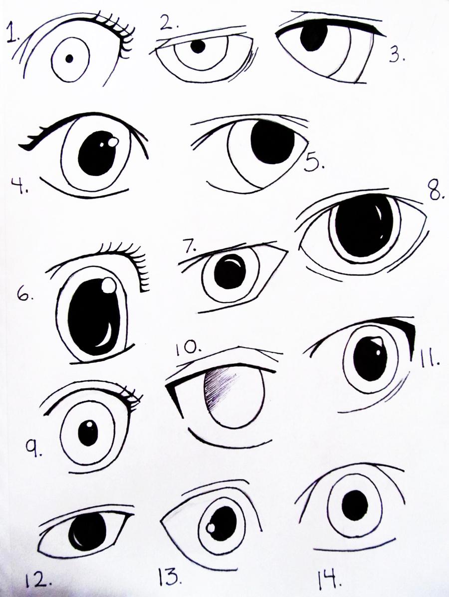 Как нарисовать аниме парня поэтапно
