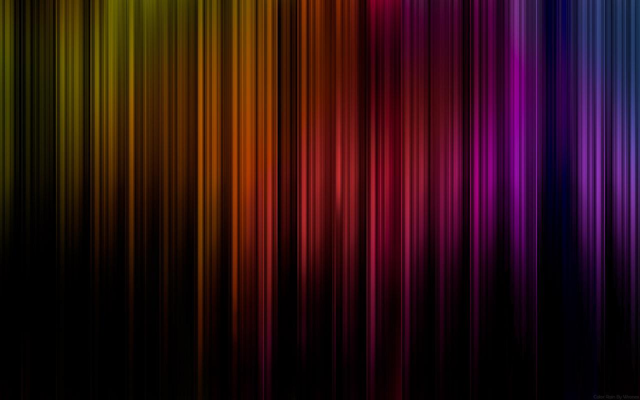 Color Rain by wronex