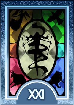 Persona 3/4 Tarot Card Deck HR - The World Arcana