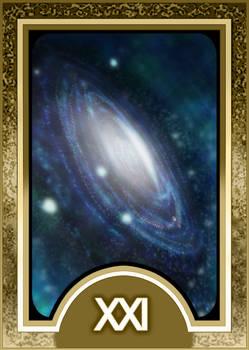 Persona 3 Tarot Card Deck HR - The Universe Arcana