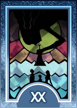 Persona 3/4 Tarot Card Deck HR - Judgement Arcana