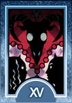 Persona 3/4 Tarot Card Deck HR - The Devil Arcana