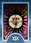 Persona 3/4 Tarot Card Deck HR - The Sun Arcana