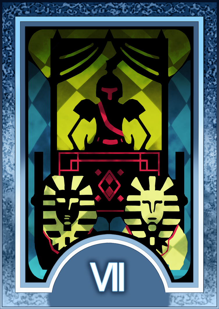 Tea and crumpets in a police box, anyone? (After school) Persona_3_4_tarot_card_deck_hr___chariot_arcana_by_enetirnel-d6xr7d2