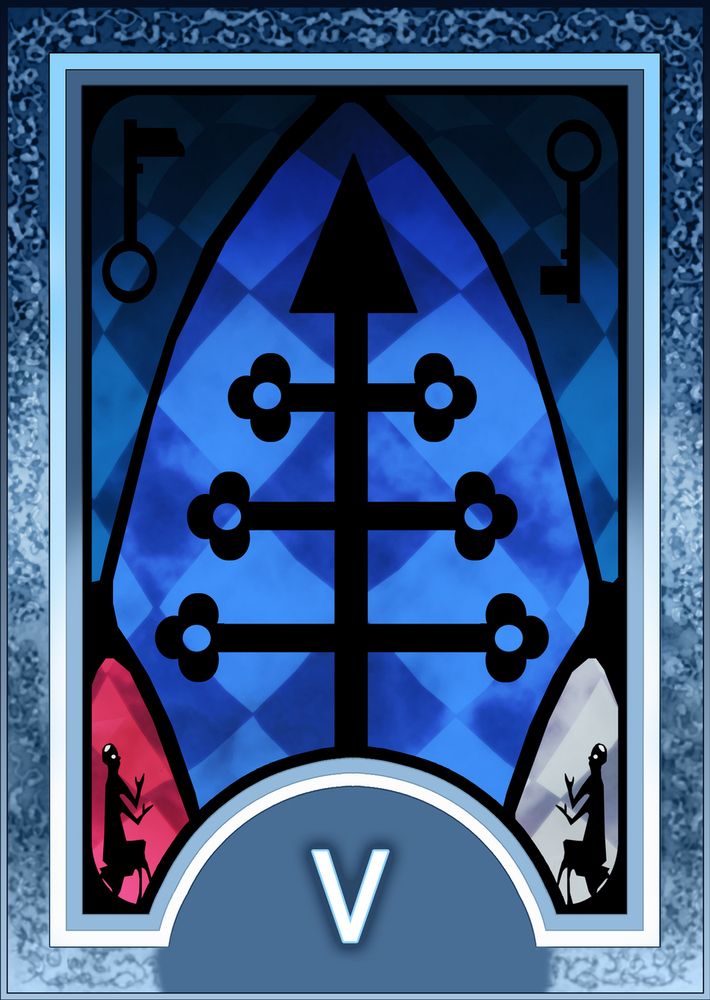 Cassiel Pendragon's Bonds Persona_3_4_tarot_card_deck_hr___hierophant_arcana_by_enetirnel-d6xr7ic