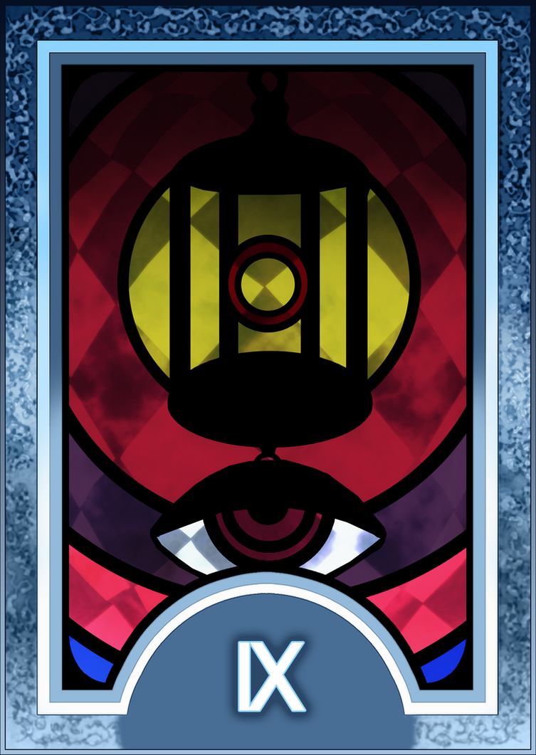 Cassiel Pendragon's Bonds Persona_3_4_tarot_card_deck_hr___hermit_arcana_by_enetirnel-d6xr7l3