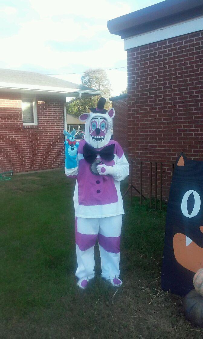 funtime freddy halloween costume by reereebunny