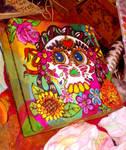 Frida sugar skull jewerly box