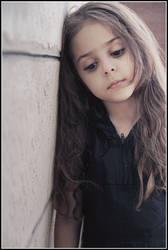 sad girl by jordansart
