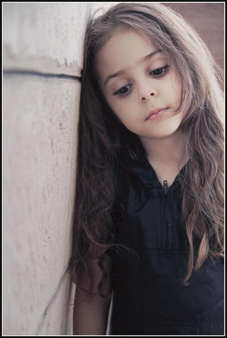 sad girl by jordansart on deviantart