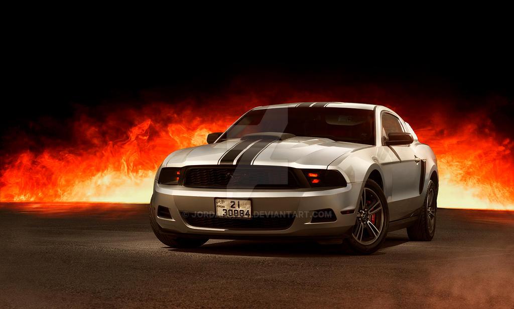 Ford Mustang GT by jordansart