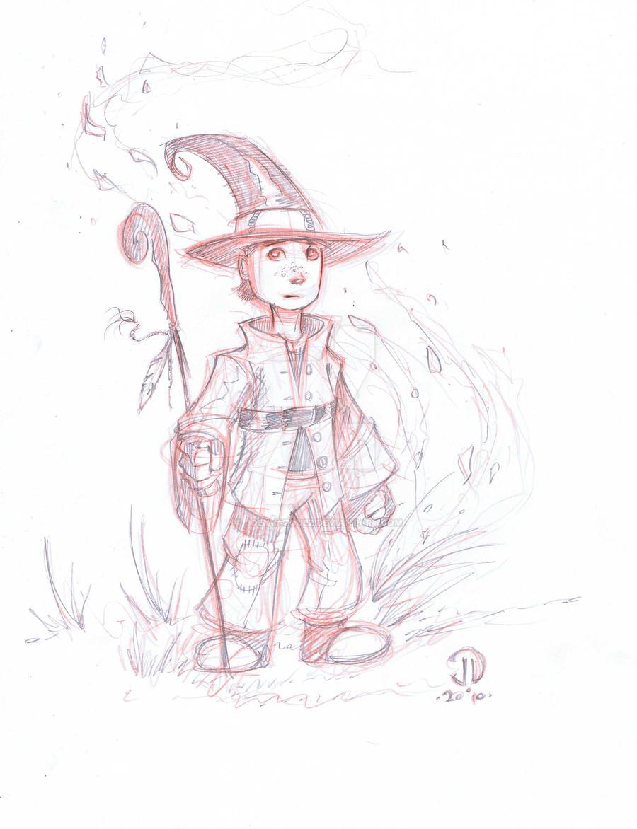 Meital sketch by JoeyVazquez