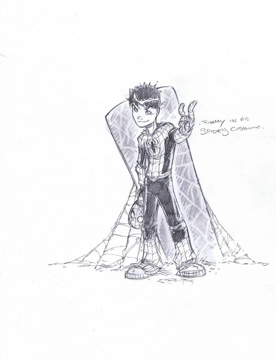 Halloween Tommy sketch by JoeyVazquez