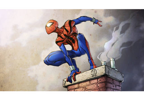 Spidey colors by spiderfan2099