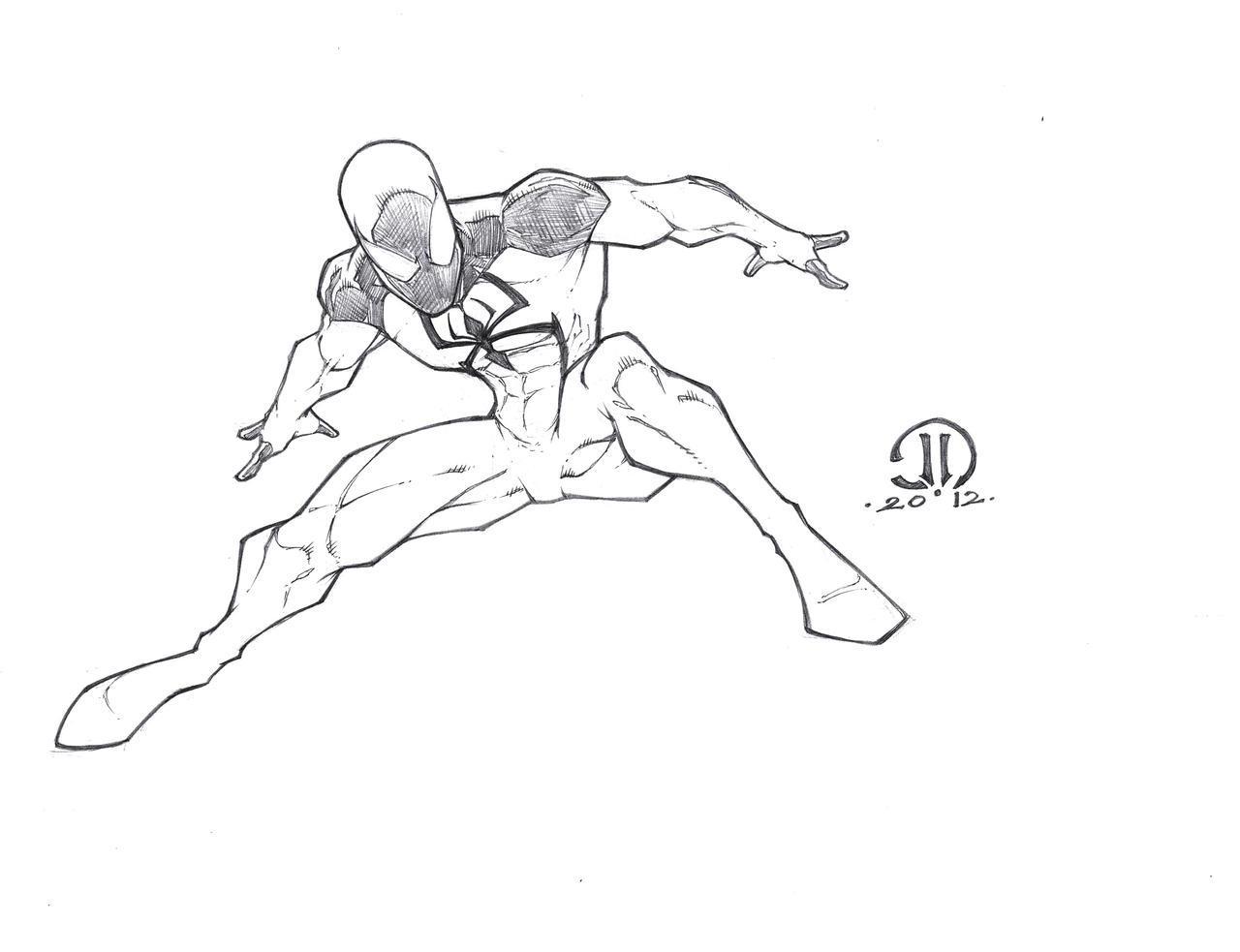 new scarlet spiderman kane by joeyvazquez on deviantart