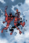 Spidermen colors