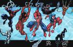 SpiderMAN MONTAGE COLORS