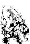 Spiderman vs Venom inks