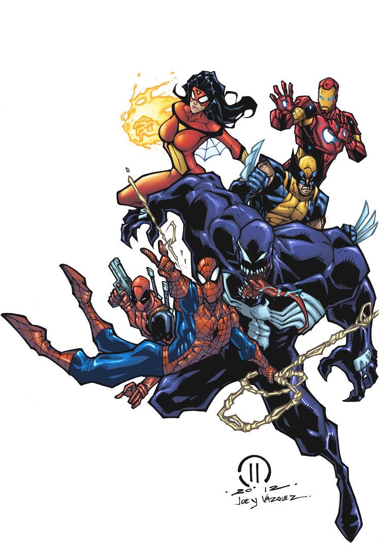 Hero's Final by JoeyVazquez
