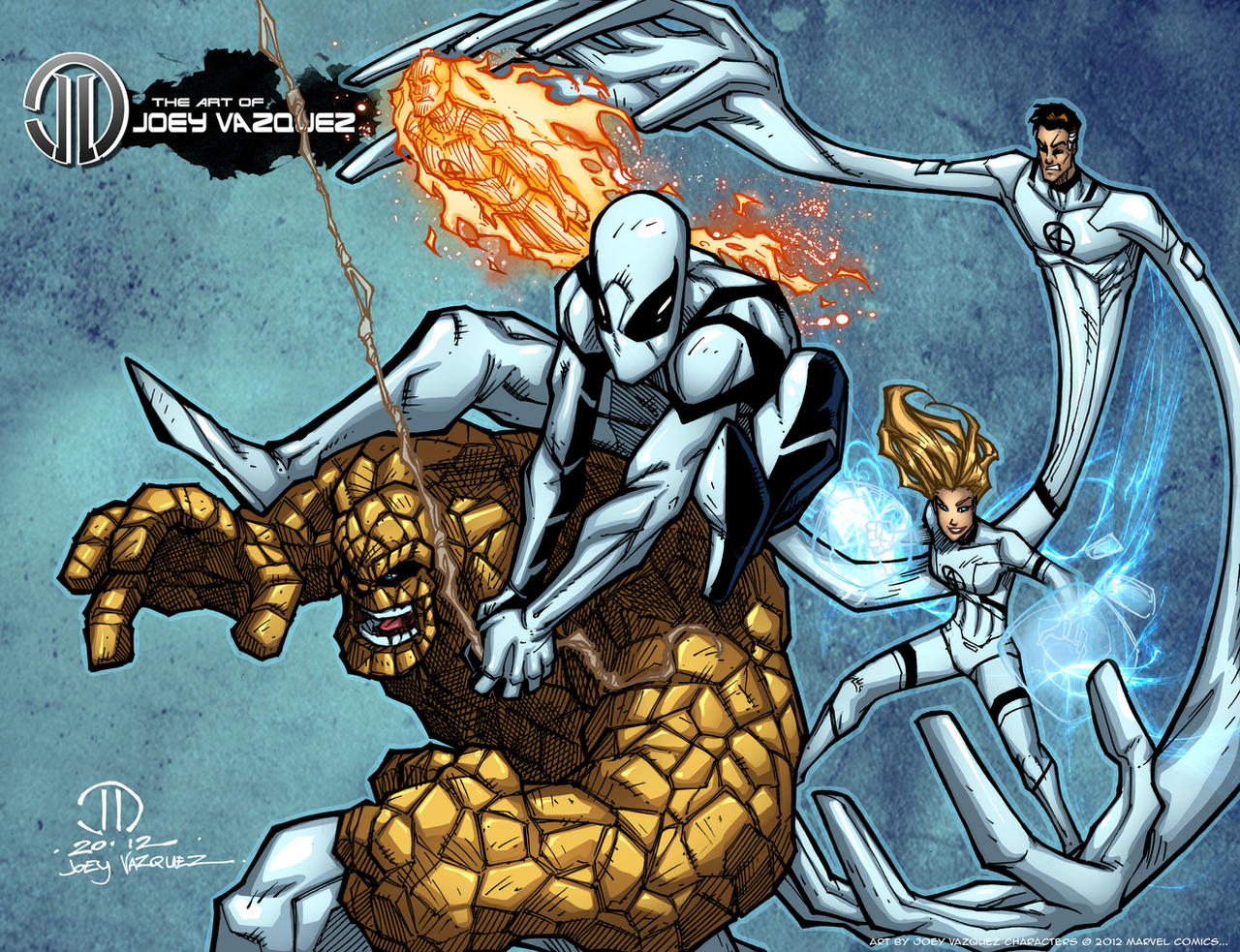 Future Foundation Print by JoeyVazquez