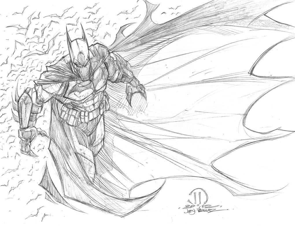 Batman commission pencils by JoeyVazquez on DeviantArt