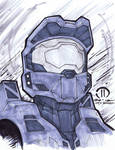 Master Chief Marker sketch