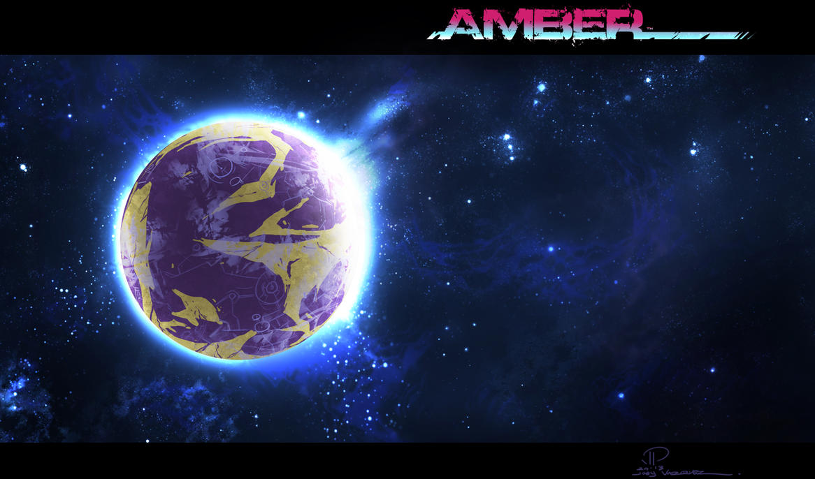 AMBER planet Ethos by JoeyVazquez