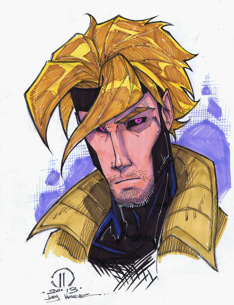 Gambit maker sketch by joeyvazquez