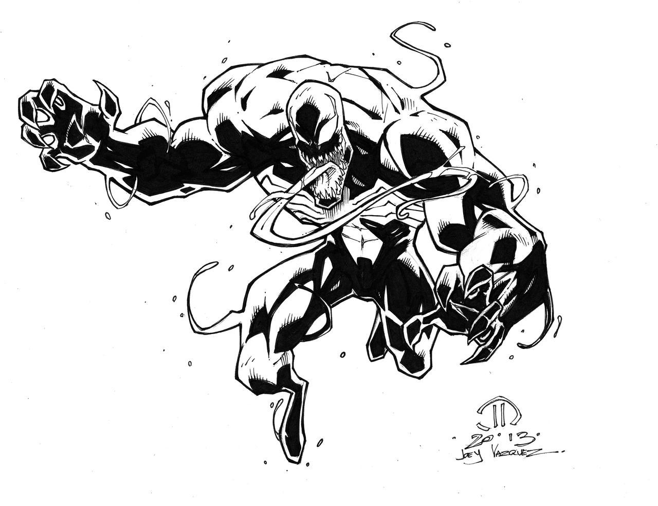 Venom inked up by JoeyVazquez