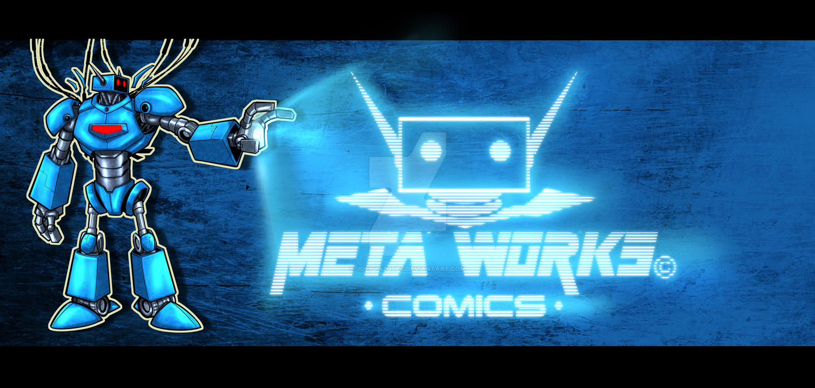 Metaworks comics Banner by JoeyVazquez