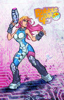 Bubble Gun pin up colors by JoeyVazquez