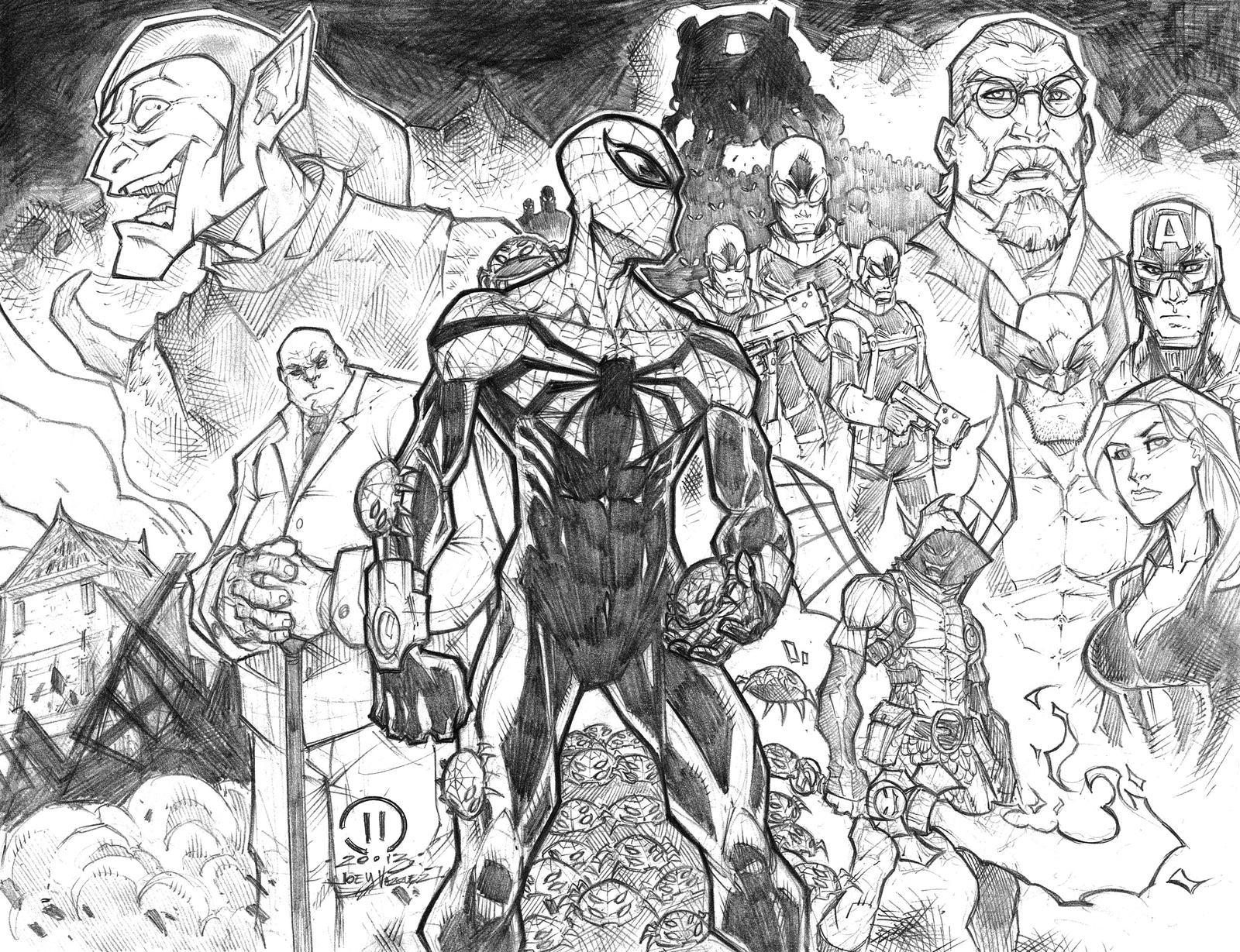 SUPERIOR SPIDERMAN by JoeyVazquez