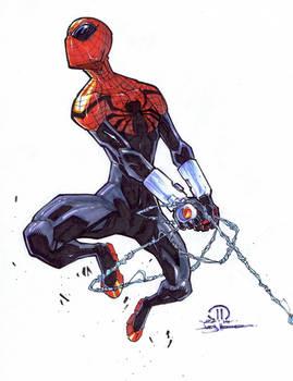 Superior Spider-man marker sketch