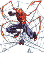 Superior Spider-man ock arms markers by JoeyVazquez