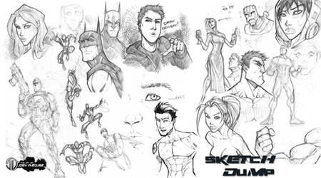 Sketch dump 2 by JoeyVazquez